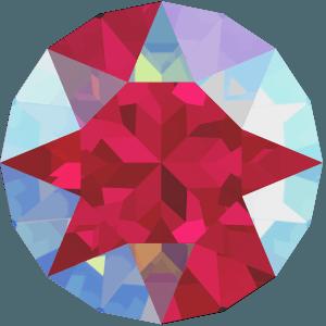 Swarovski 1088 - XIRIUS Chaton, Light Siam Shimmer