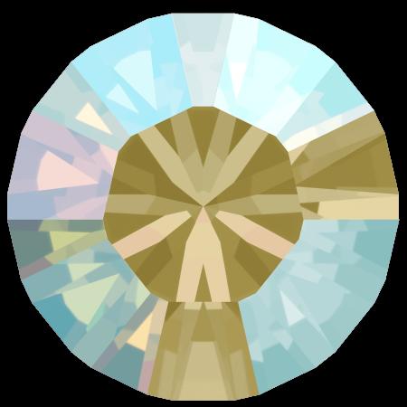 Swarovski 1028 - Xilion Chaton, Black Diamond Shimmer