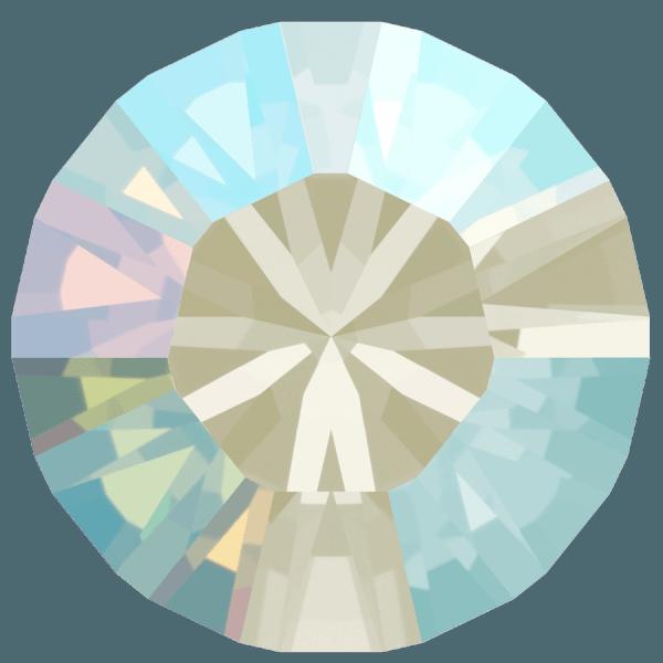 Swarovski 1028 - Xilion Chaton, Light Sapphire Shimmer