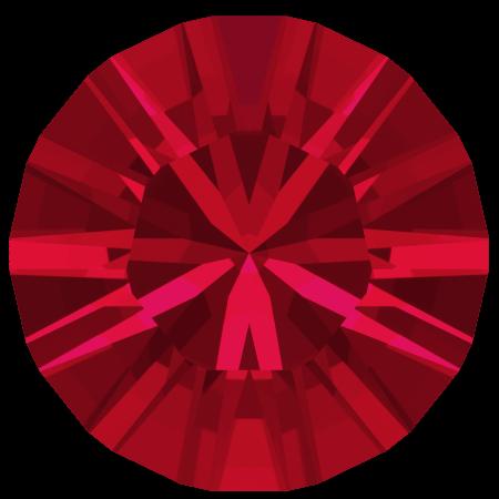 Swarovski 1028 - Xilion Chaton, Scarlet