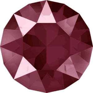 Swarovski 1088 - XIRIUS Chaton, Crystal Dark Red