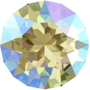 Swarovski 1088 - XIRIUS Chaton, Black Diamond Shimmer