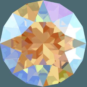 Swarovski 1088 - XIRIUS Chaton, Light Colorado Topaz Shimmer