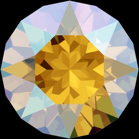 Swarovski 1088 - XIRIUS Chaton, Light Topaz Shimmer