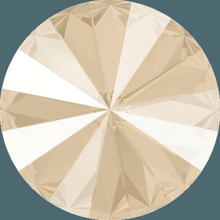 Swarovski 1122 - Rivoli Chaton, Crystal Ivory Cream