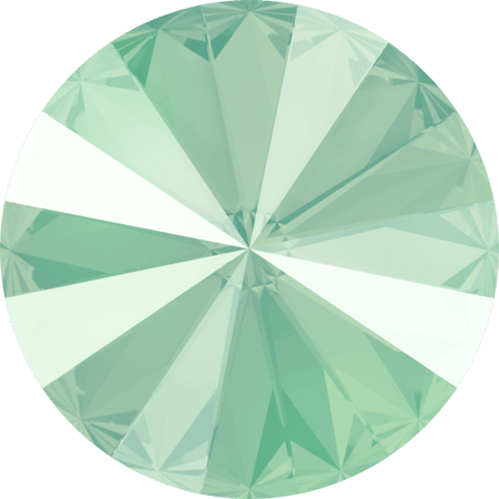 Swarovski 1122 - Rivoli Chaton, Crystal Mint Green