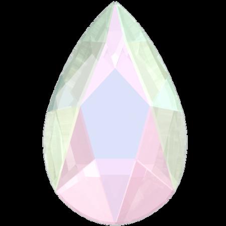 Swarovski 2303 - Pear Flat, Crystal AB