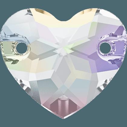 Swarovski 3259 - Heart, Crystal AB