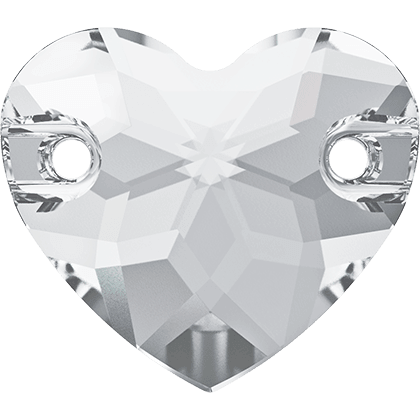 Swarovski 3259 - Heart, Crystal