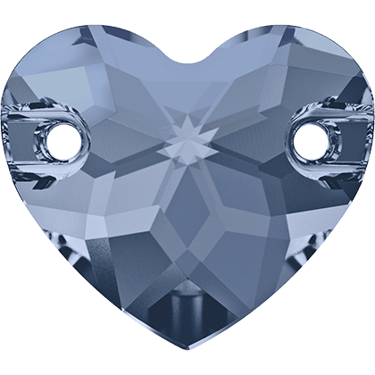 Swarovski 3259 - Heart, Denim Blue