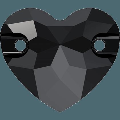 Swarovski 3259 - Heart, Jet