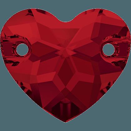 Swarovski 3259 - Heart, Light Siam