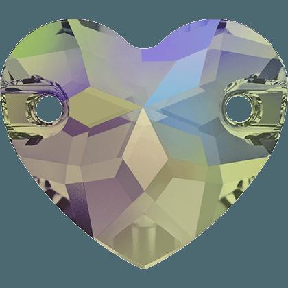 Swarovski 3259 - Heart, Crystal Paradise Shine