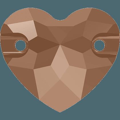 Swarovski 3259 - Heart, Crystal Rose Gold