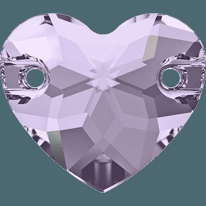 Swarovski 3259 - Heart, Smoky Mauve