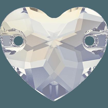 Swarovski 3259 - Heart, White Opal