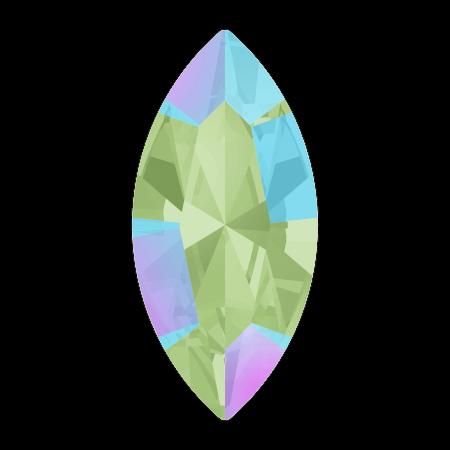 Swarovski 4228 - XILION Navette, Erinite Shimmer
