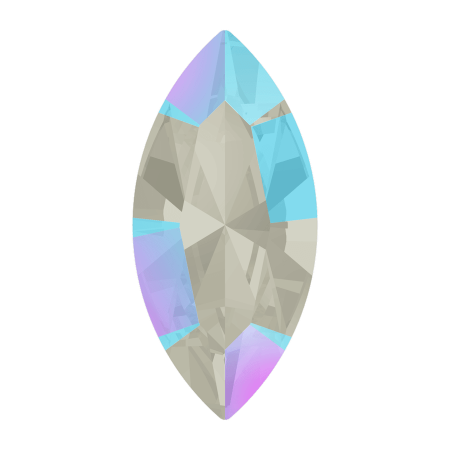 Swarovski 4228 - XILION Navette, Light Sapphire Shimmer