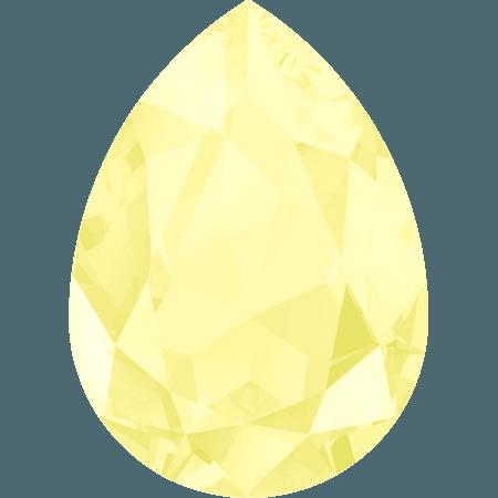 Swarovski 4320, CR Powder Yellow