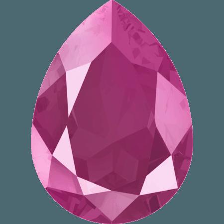 Swarovski 4320, CR Peony Pink