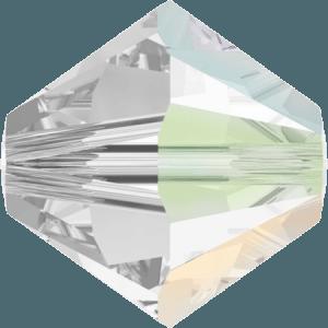 Swarovski 5328 Crystal AB Satin