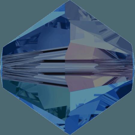 Swarovski 5328 - XILION, Capri Blue AB 2x