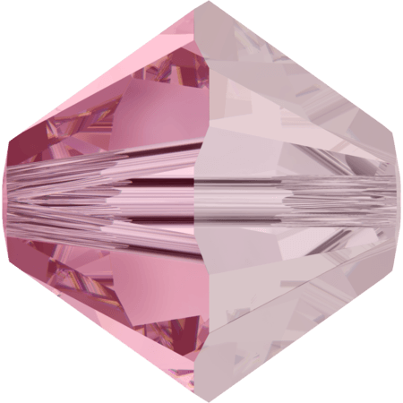 Swarovski 5328 Light Rose