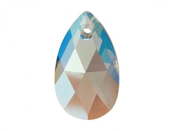 Swarovski 6106 - Pear-shaped, Black Diamond Shimmer