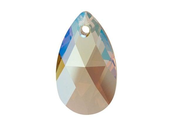 Swarovski 6106 - Pear-shaped, Light Colorado Topaz Shimmer