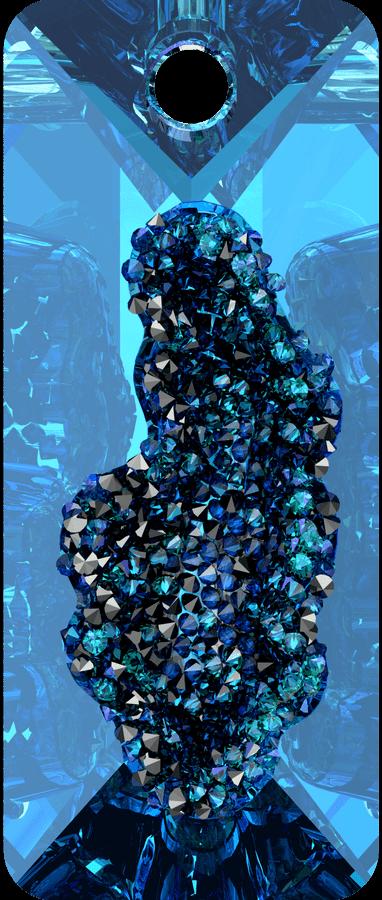 Swarovski 6925 CR Bermuda Blue