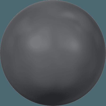 Swarovski 2080/4 - Cabochon, Hotfix, Crystal Dark Grey Pearl