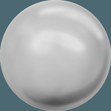 Swarovski 2080/4 - Cabochon, Hotfix, Crystal Light Grey Pearl