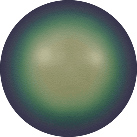 Swarovski 5817 - Crystal Scarabaeus Green Pearl