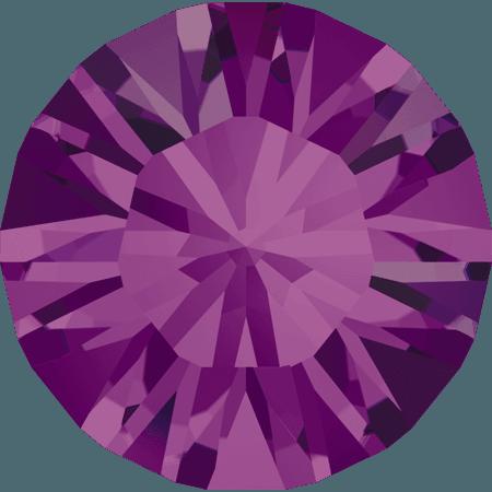 Swarovski 1028 – Xilion Chaton, Amethyst
