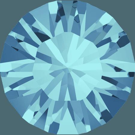 Swarovski 1028 – Xilion Chaton, Aquamarine