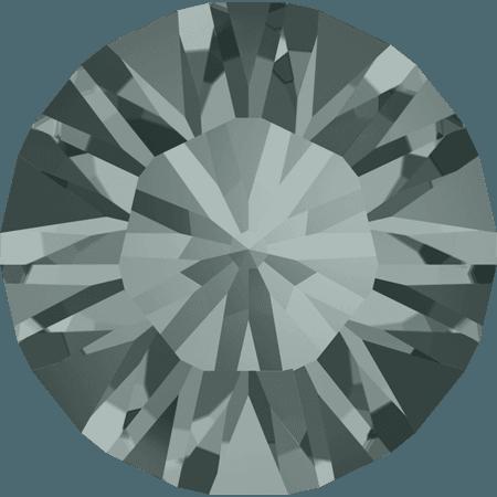 Swarovski 1028 – Xilion Chaton, Black Diamond