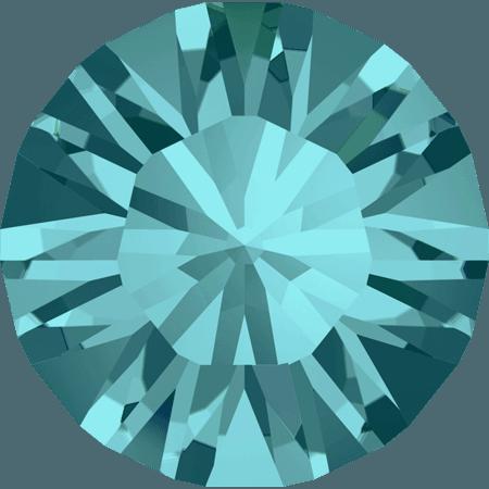 Swarovski 1028 – Xilion Chaton, Blue Zircon