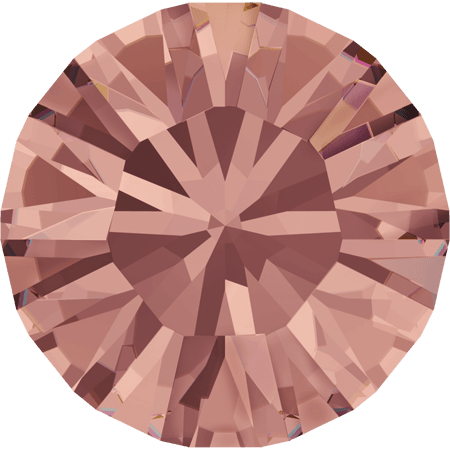 Swarovski 1028 – Xilion Chaton, Blush Rose