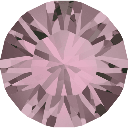 Swarovski 1028 – Xilion Chaton, Crystal Antique Pink