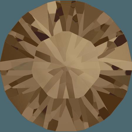 Swarovski 1028 – Xilion Chaton, Crystal Bronze Shade