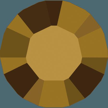 Swarovski 1028 – Xilion Chaton, Crystal Dorado