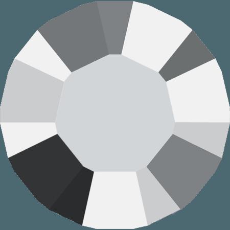 Swarovski 1028 – Xilion Chaton, Crystal Light Chrome