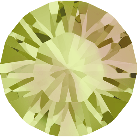 Swarovski 1028 – Xilion Chaton, Crystal Luminous Green