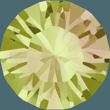 Swarovski 1028 – Xilion Chaton, Crystal Luminous Green