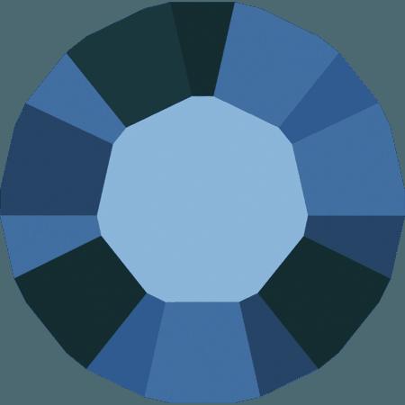 Swarovski 1028 – Xilion Chaton, Crystal Metallic Blue