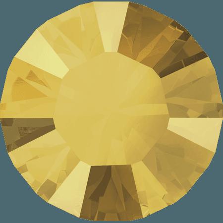 Swarovski 1028 – Xilion Chaton, Crystal Metallic Sunshine