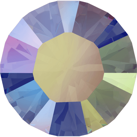 Swarovski 1028 – Xilion Chaton, Crystal Paradise Shine