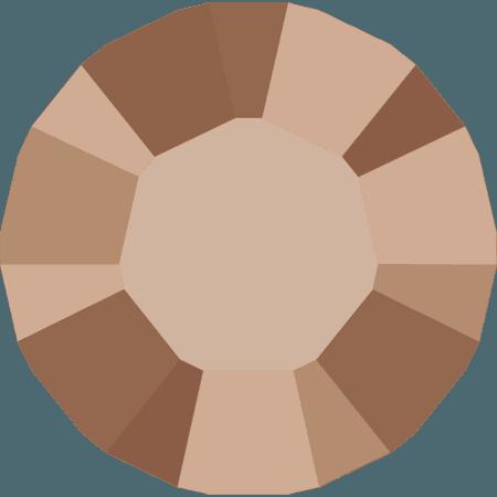 Swarovski 1028 – Xilion Chaton, Crystal Rose Gold