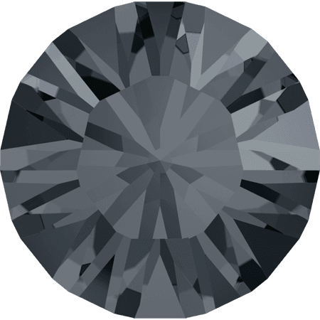 Swarovski 1028 – Xilion Chaton, Crystal Silver Night