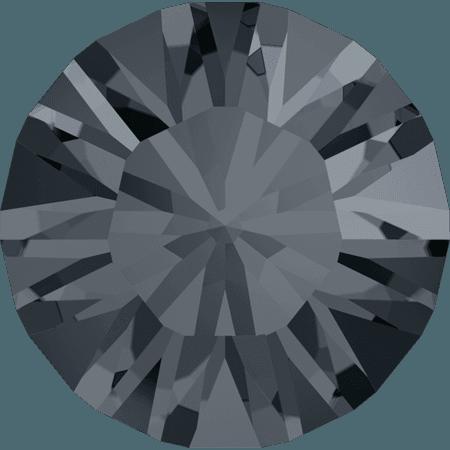 Swarovski 1028 – Xilion Chaton, Crystal Silver Night